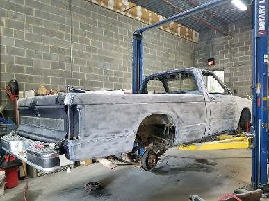 GMC S15 Sierra Classic in progress