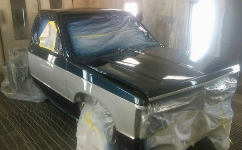 84 GMC S15 Sierra Classic In Paint